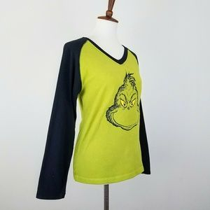 cdbd5f77c98 Dr. Seuss Tops | 5 For 25 Grinch Dr Seuss Fleece Holiday Top | Poshmark